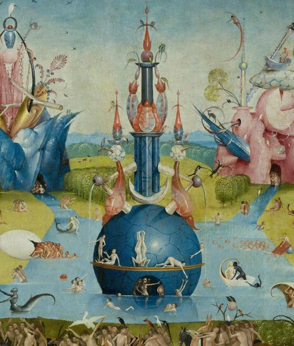 Garden of Earthly Delights - Bosch - Detail