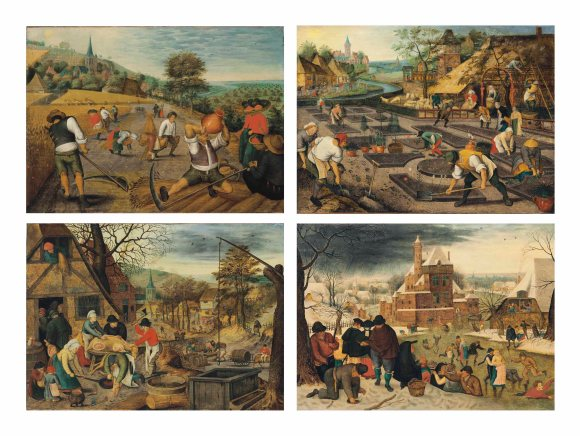 Pieter Brueghel the Younger - The Four Seasons