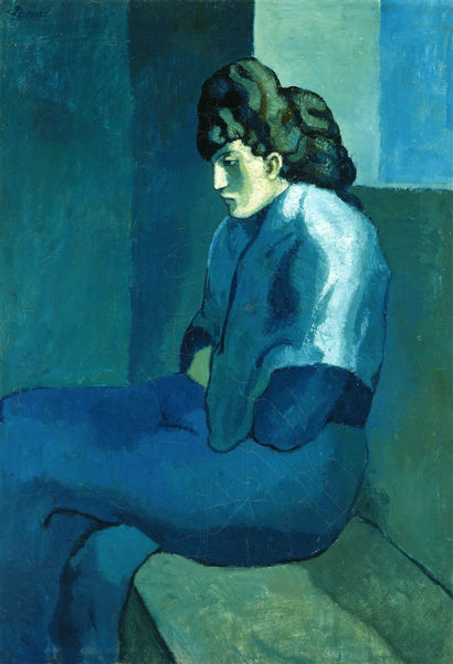 Picasso - Melancholy Woman